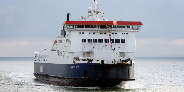 The P&O Ferries European Seaway