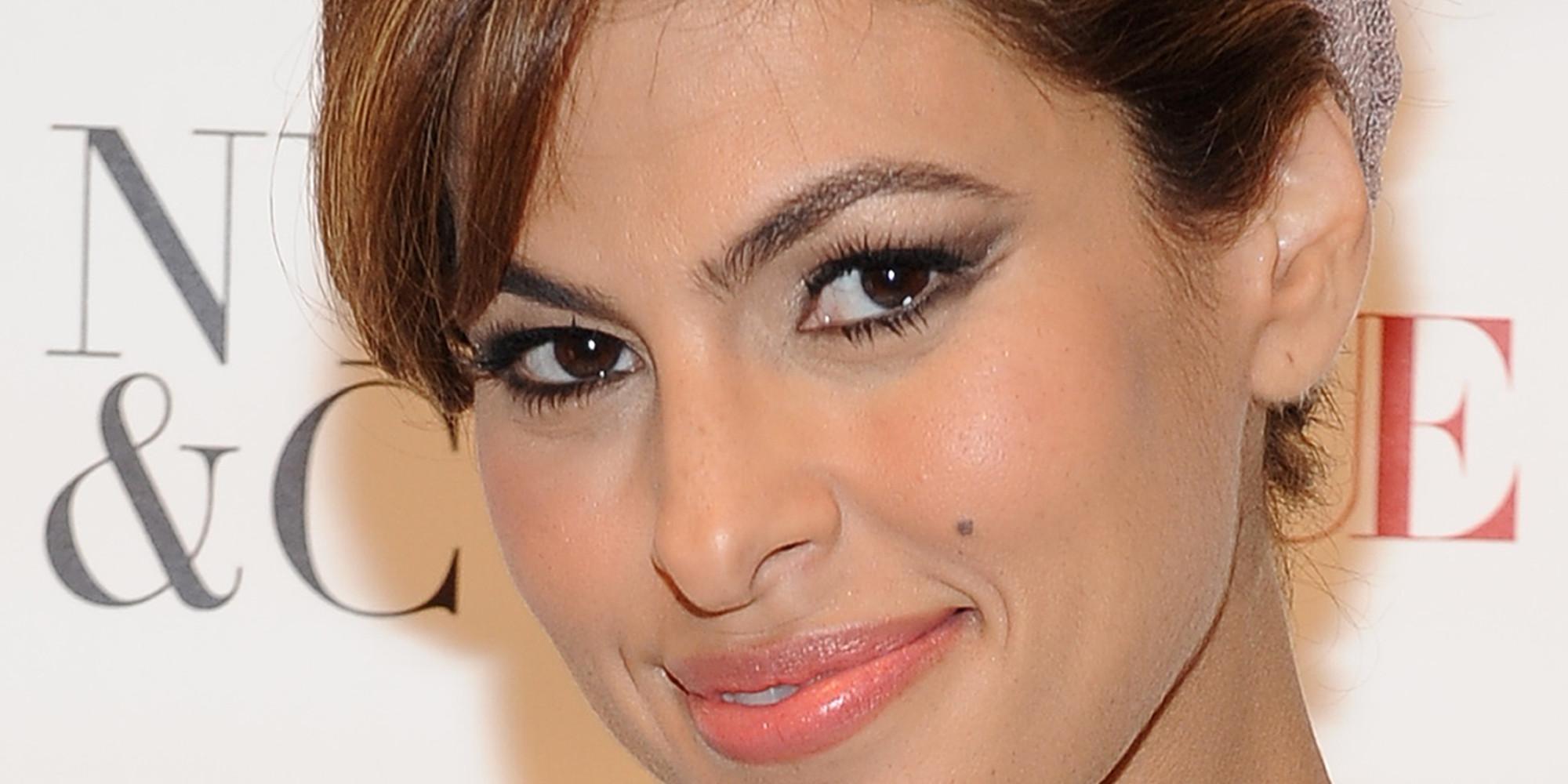 Eva mendes eye makeup