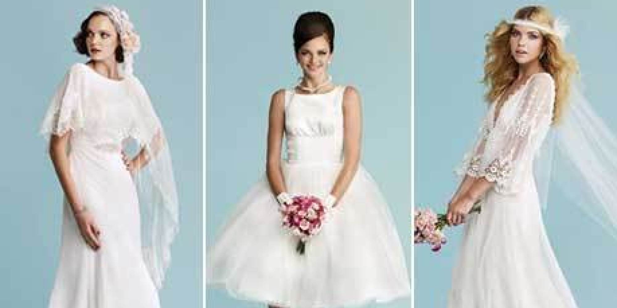 50+ Vintage-Inspired Dresses For Brides Who Love All Things Retro ...