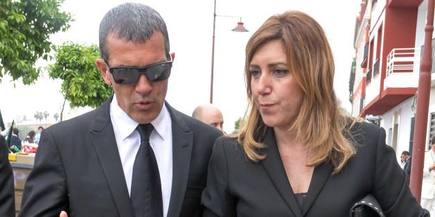 Antonio Banderas y Susana Díaz