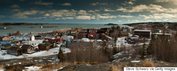yellowknife panorama