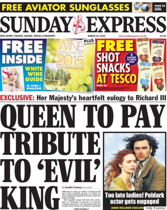 richard iii daily express