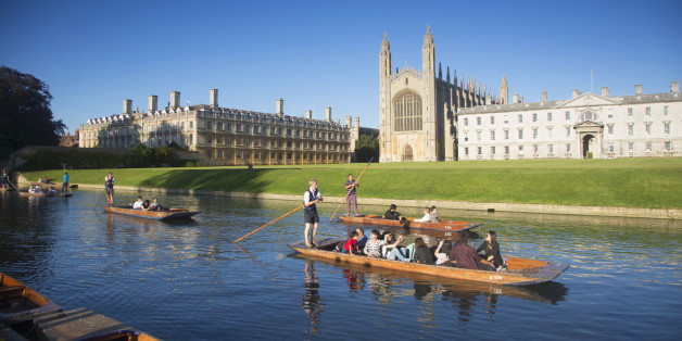 Professor Diane Reay has accused Oxford and Cambridge (pictured) of being 'institutionally racist'