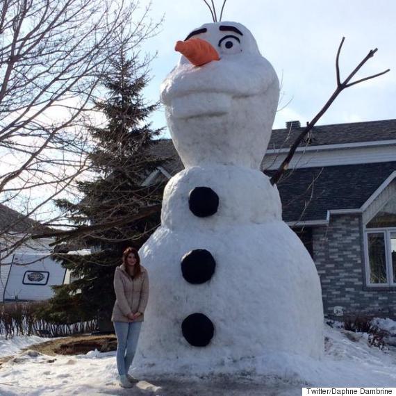 olaf snowman