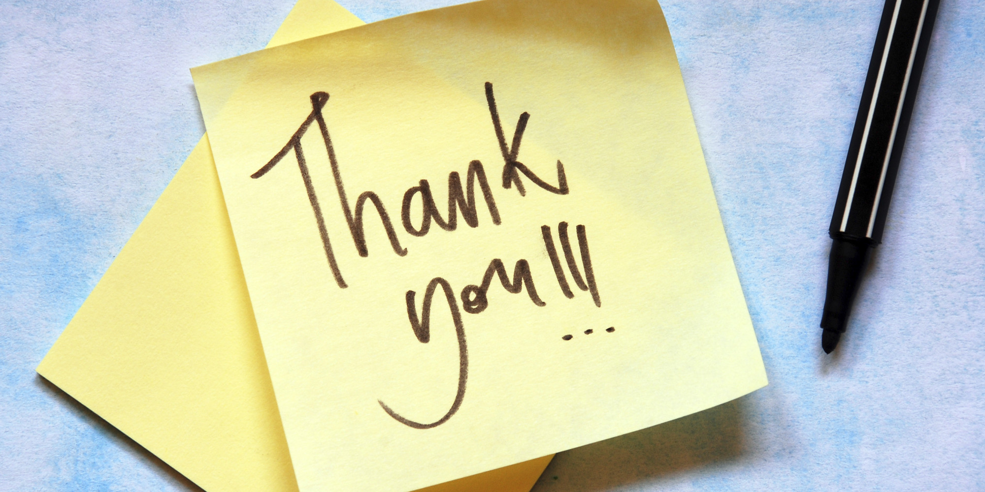 Thank You Notes The 5 Essential Life Lessons Huffpost