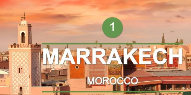 Marrakech, meilleure destination dans le monde pour TripAdvisor.com