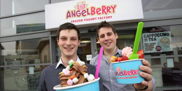 (Left) James Taylor and (Right) Ryan Pasco – founders of AngelBerry