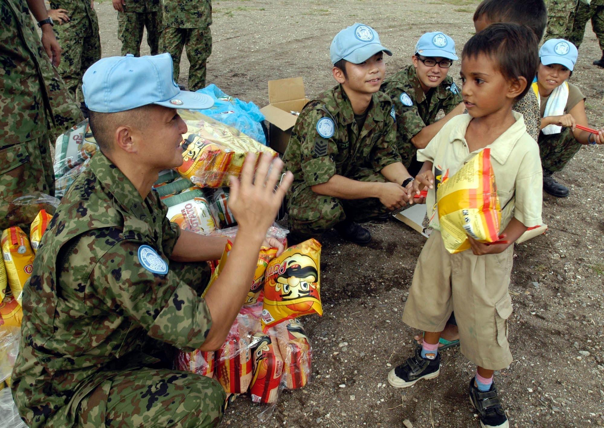 peacekeeping operations japan