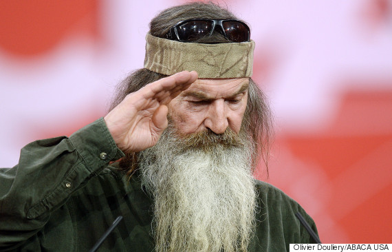 Christian TV Star Phil Robertson Fantasises About Rape And Torture Of Atheist Family At Prayer Breakfast