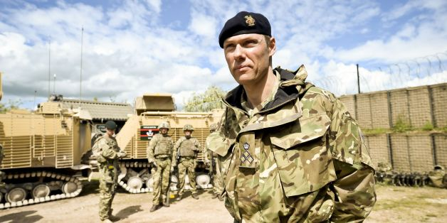 Brigadier Darrell Amison, commander Joint Force Support, at Copehill Down Village, as 20th Armoured Brigade prepare for deployment to Afghanistan on the very last UK forces Operation HERRICK (Op HERRICK 20).