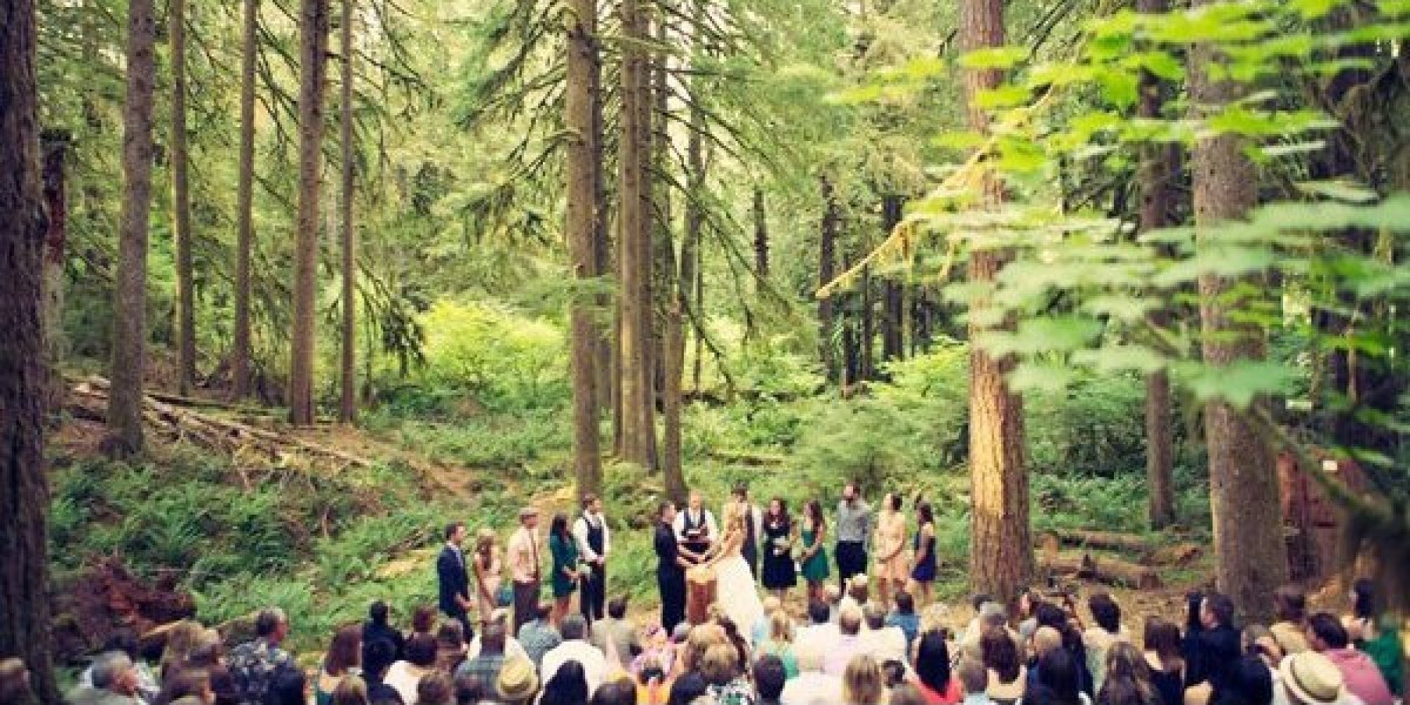 Merveilleux 100 Beautiful Outdoor Spaces For The Wedding Ceremony Of Your Dreams |  HuffPost