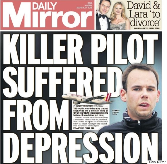 daily mirror depression