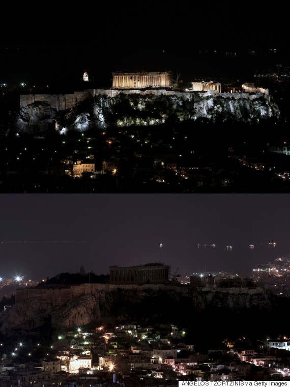 earth hour 2015 greece