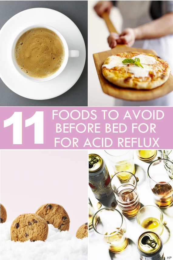 Foods to avoid to reduce stomach acid