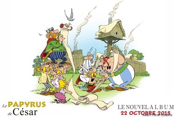 asterix papyrus de cesar