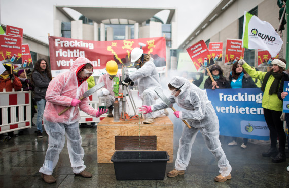 bund fracking protest