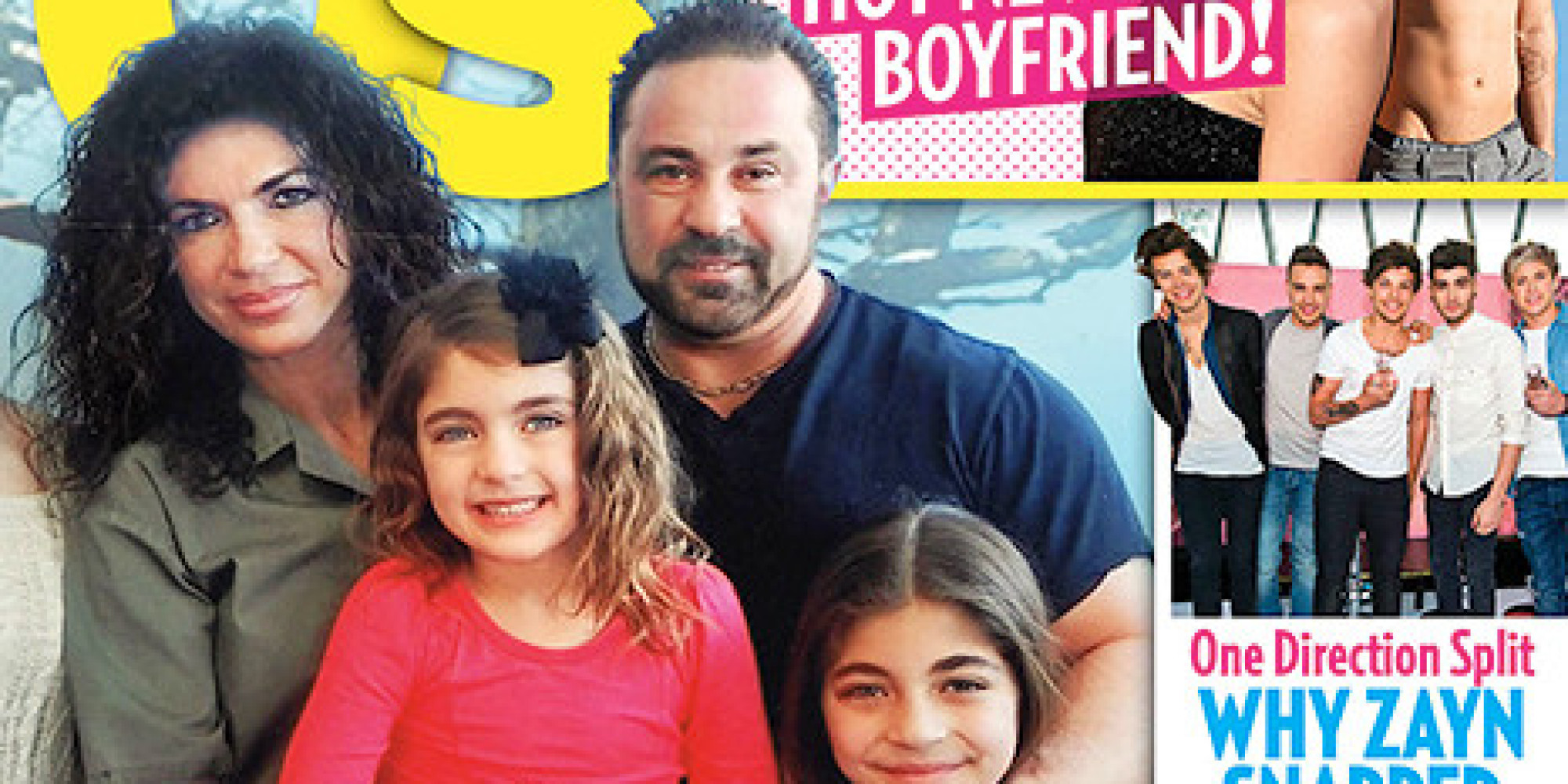 Teresa Giudice And Family Appear On Us Weekly Cover Open