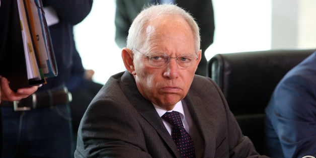 Schäuble not amsued