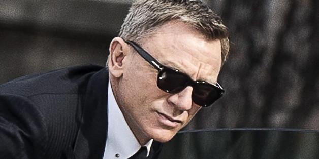 Daniel Craig bei den Dreharbeiten zum neuen Bond-Film in Mexiko