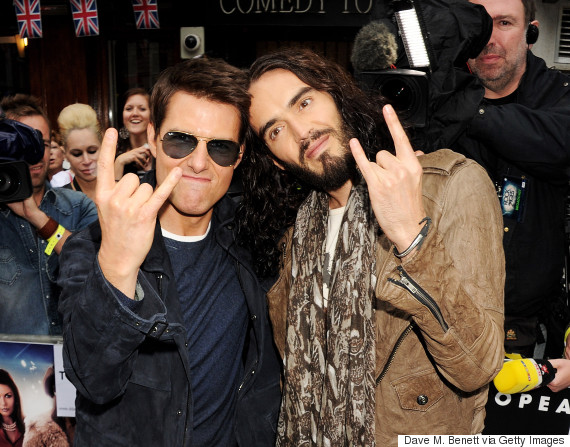 tom cruise russell brand