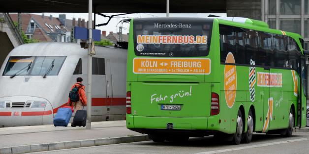 Grüne fordern Maut für Fernbusse
