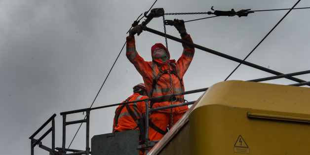 Aufräumarbeiten nach Sturmtief Niklas