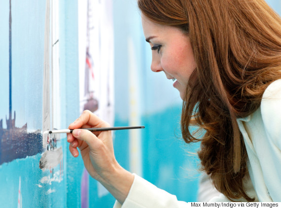 duchess of cambridge paintbrush