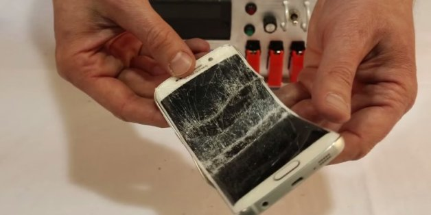Samsung's Galaxy S6 Edge Bends Under The Same Pressure As The iPhone 6 Plus