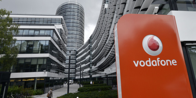 The German headquarters of mobile-phone carrier Vodafone is pictured in Duesseldorf, Germany, Thursday, Sept. 12, 2013. Cellphone and broadband provider Vodafone Deutschland said it was the target of a large-scale data theft affecting the personal details of 2 million German customers.  (AP Photo/Martin Meissner)