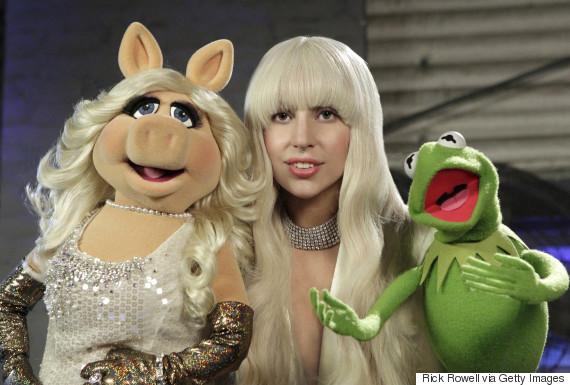 lady gaga muppet