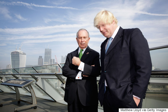boris johnson michael bloomberg