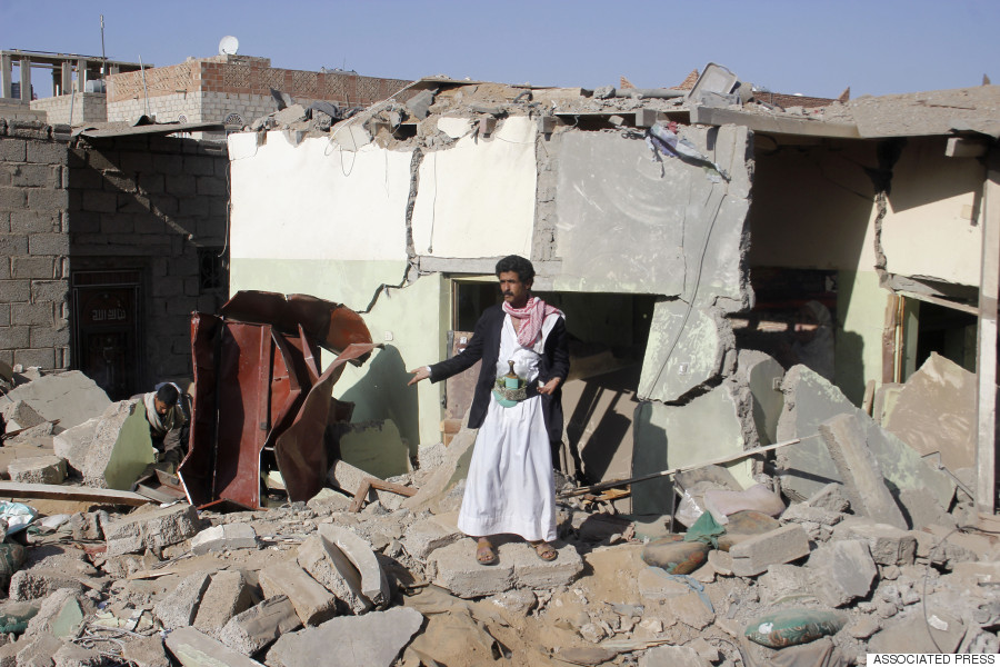 airstrike yemen