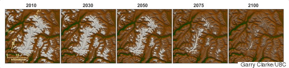 bc glacier melt