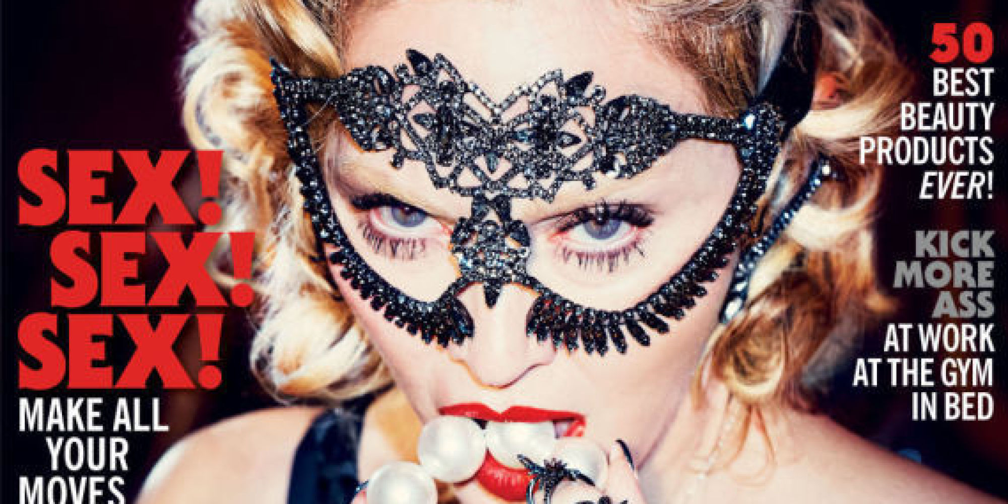 Madonna Covers Cosmopolitan s 50th Anniversary Issue Says Not