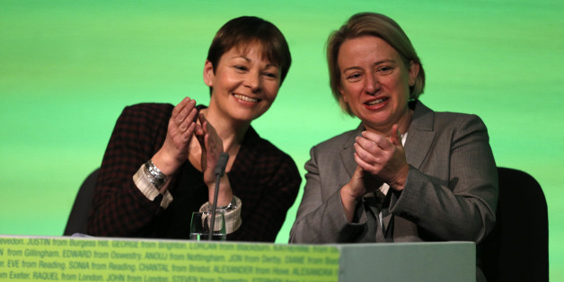 One of these Green politicians was on Today this morning, the other was not