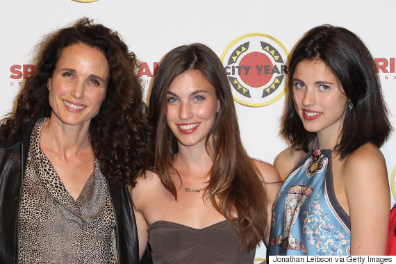 andie macdowell margaret qualley rainey qualley
