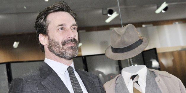 WASHINGTON, DC - MARCH 27:   Actor Jon Hamm attends a ceremony where objects from the iconic TV series 'Mad Men' are presented to the National Museum of American History on March 27, 2015 in Washington DC.  (Photo by Kris Connor/Getty Images)