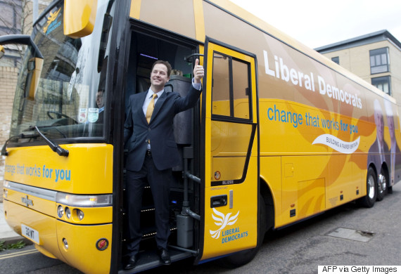 clegg battle bus