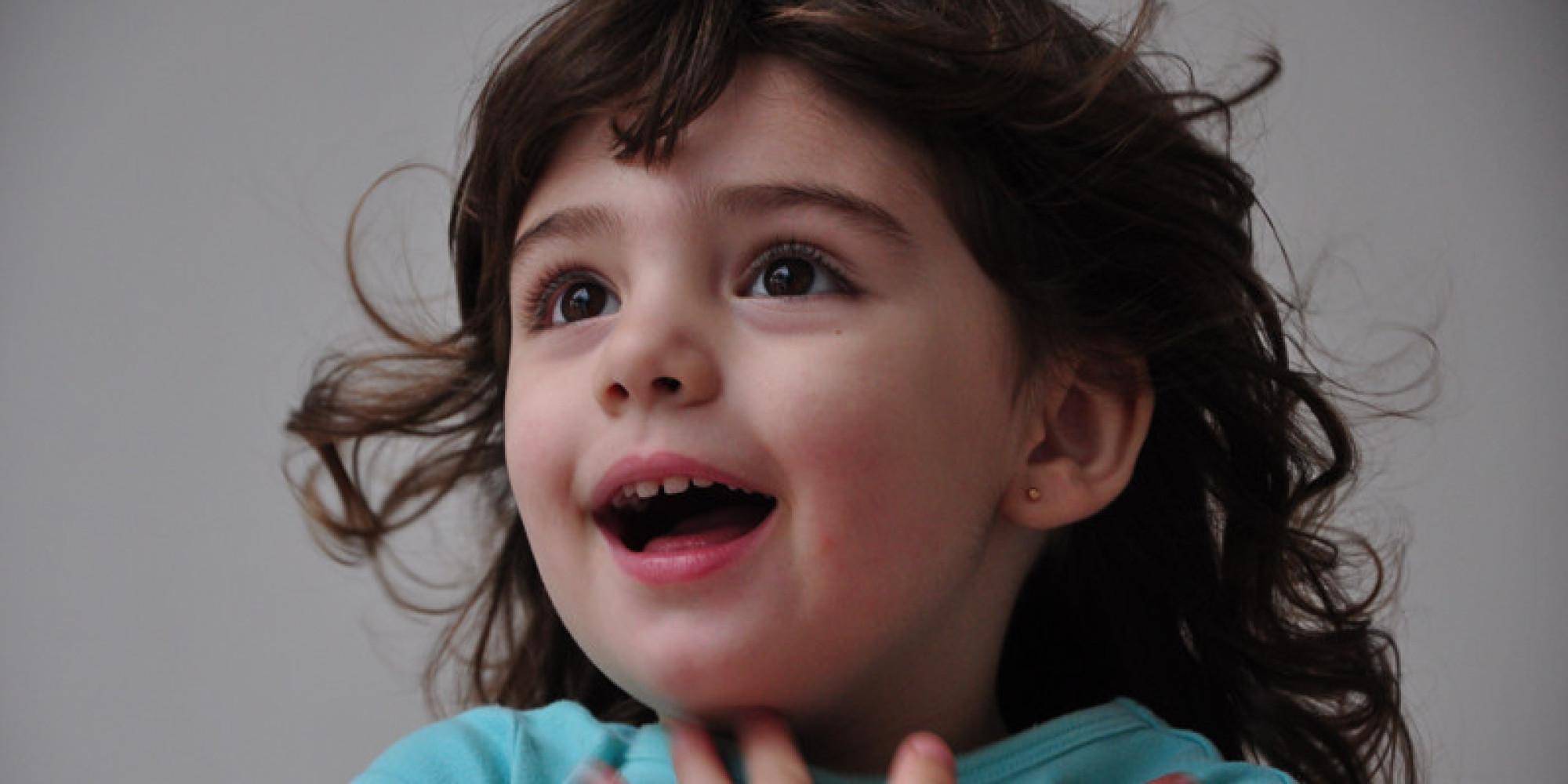 Восторг у детей фото