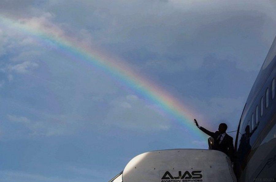 obama arcoiris