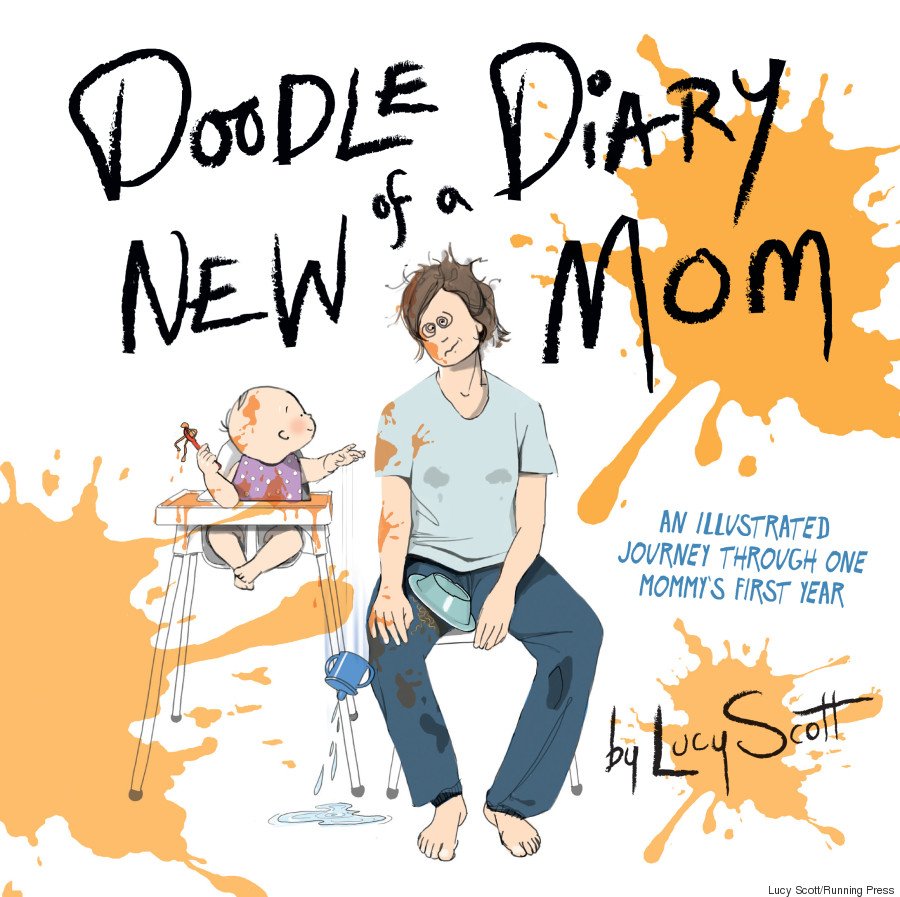 doodle diary of new mom