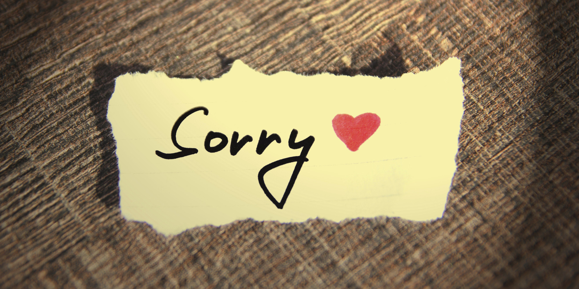 How to Stop Apologizing