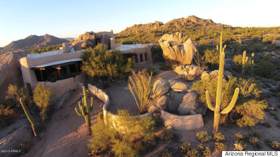 arizona boulder house