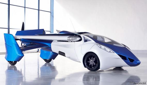 voiture volante video