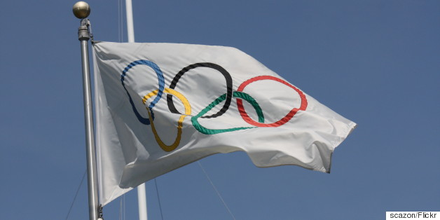 olympic flag british flag