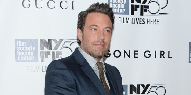 """Actor Ben Affleck attends the opening night gala world premiere of """"Gone Girl"""" during the 52nd New York Film Festival at Alice Tully Hall on Friday, Sept. 26, 2014, in New York. (Photo by Evan Agostini/Invision/AP)"""