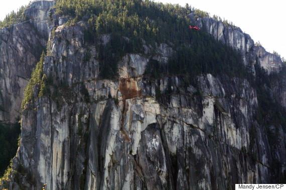 squamish rockslide chief