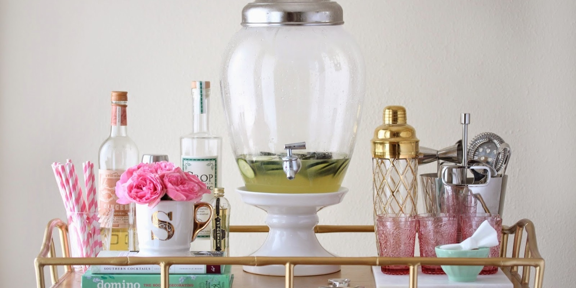 7 diy bar cart hacks that are cheaper than a round of drinks huffpost