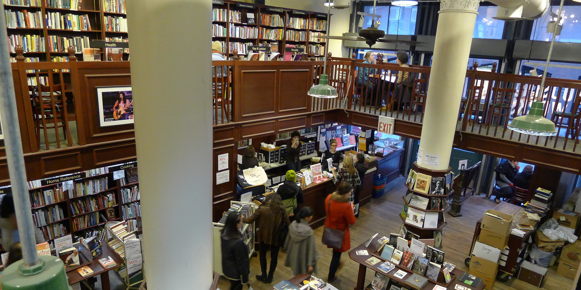 Housing Works Bookstore Café Shows How Indie Bookstores Can Win In The Age  Of Amazon | HuffPost