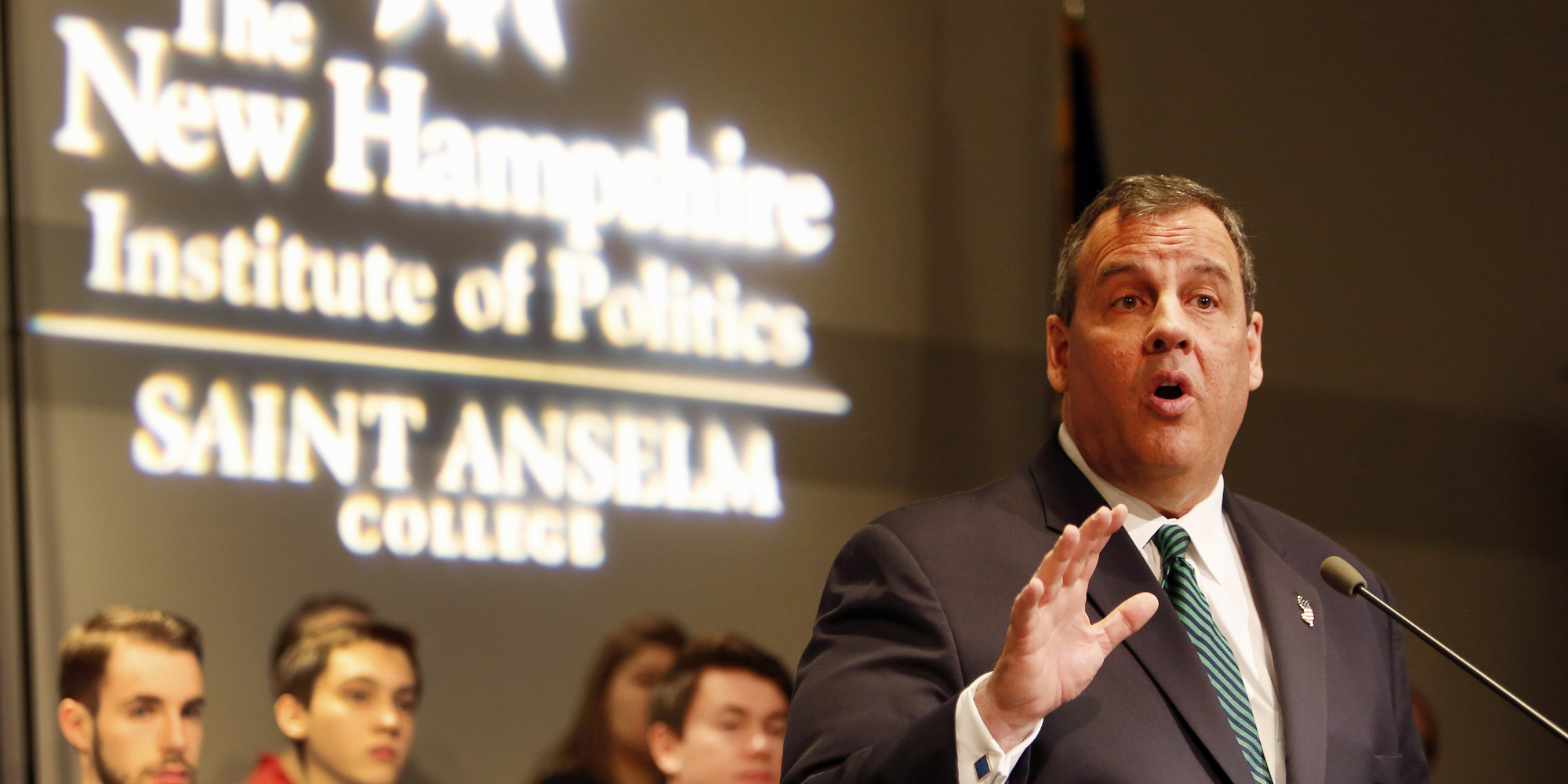 christies re election speech a paper Chris christie, whose presidential hopes have been running into increasing turbulence, sold himself to influential republicans as a straight-talking problem solver during weekend appearances in.